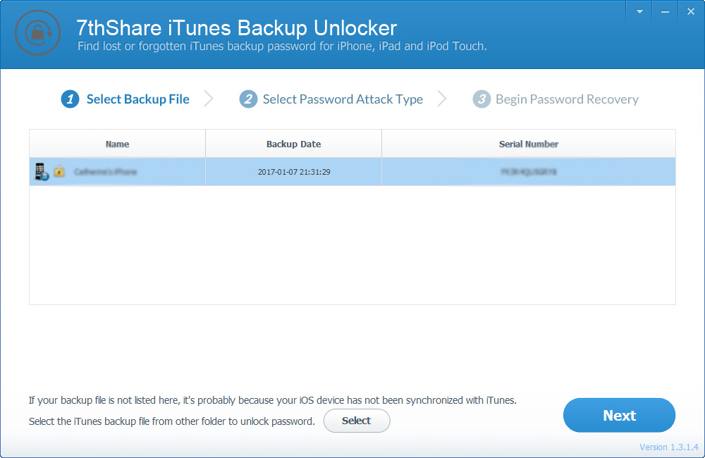 iphone unlocker pro 7thshare itunes backup unlocker pro 1 3 1 4 free 2701