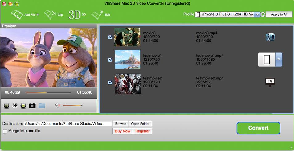 Mac 3D Video Converter 3.3.8